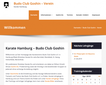 Budo Club Goshin – Karate Hamburg